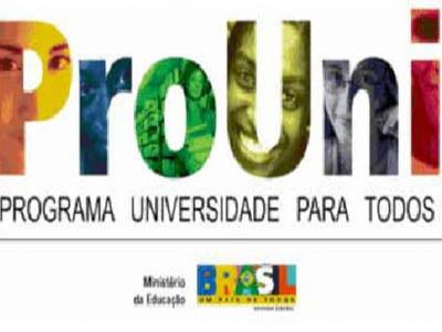 Inscrições para o ProUni do segundo semestre começam dia 7 de junho