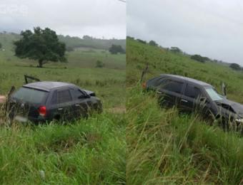 Acidente é registrado na Rodovia João Paulo II entre Campo do Brito e São Domingos